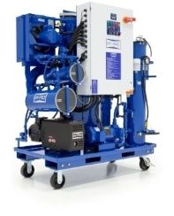 vacuum dehydrator (VUD)