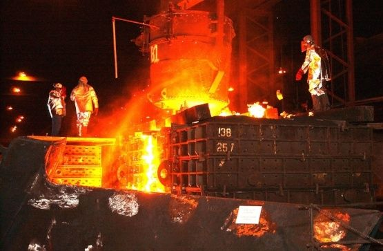steel mill equipment and lube oil